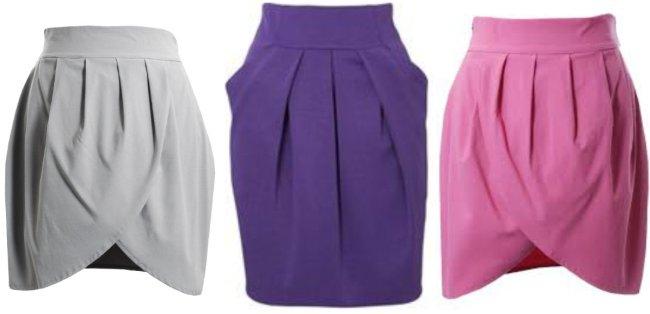 модели модных юбок баллон как сшить: